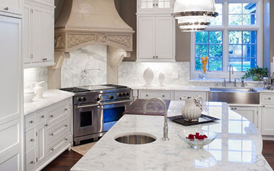 AAA Hellenic Marble - Newtown Square Quartz Countertops